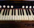Tastatur und Register