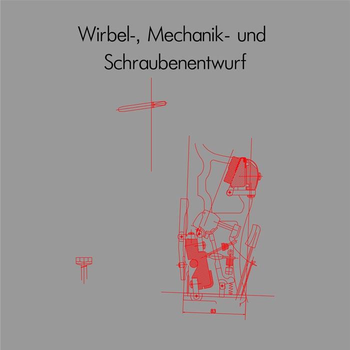 Wirbel- , Mechanik- und Schraubenentwurf