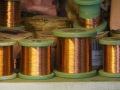 Kupferspulen für Baßsaiten