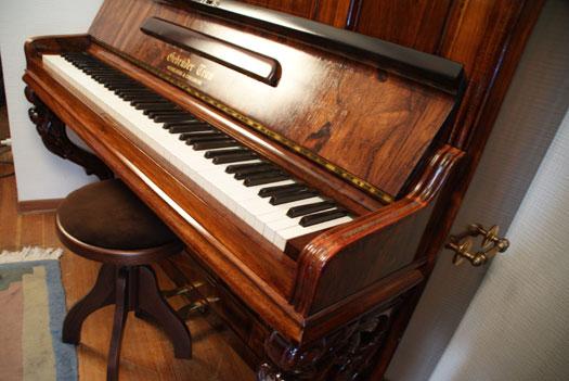 Klavier von Gebr. Trau