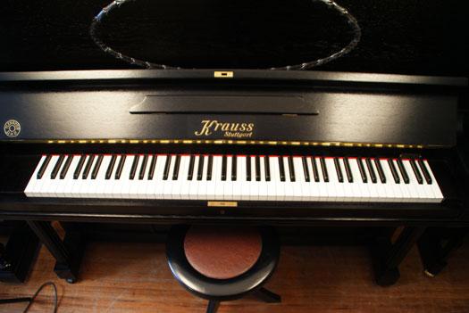 Klavier von Krauss